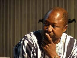 El escritor chadiano Koulsy Lamko.