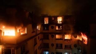 Пожар в жилом доме в 16-м округе Парижа 5 февраля 2019
