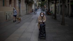 Espagne - Alimentation - Coronavirus - Personne agée