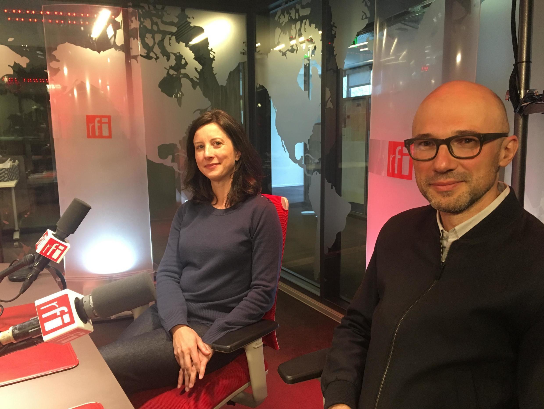 Angela Detanico e Rafael Lain