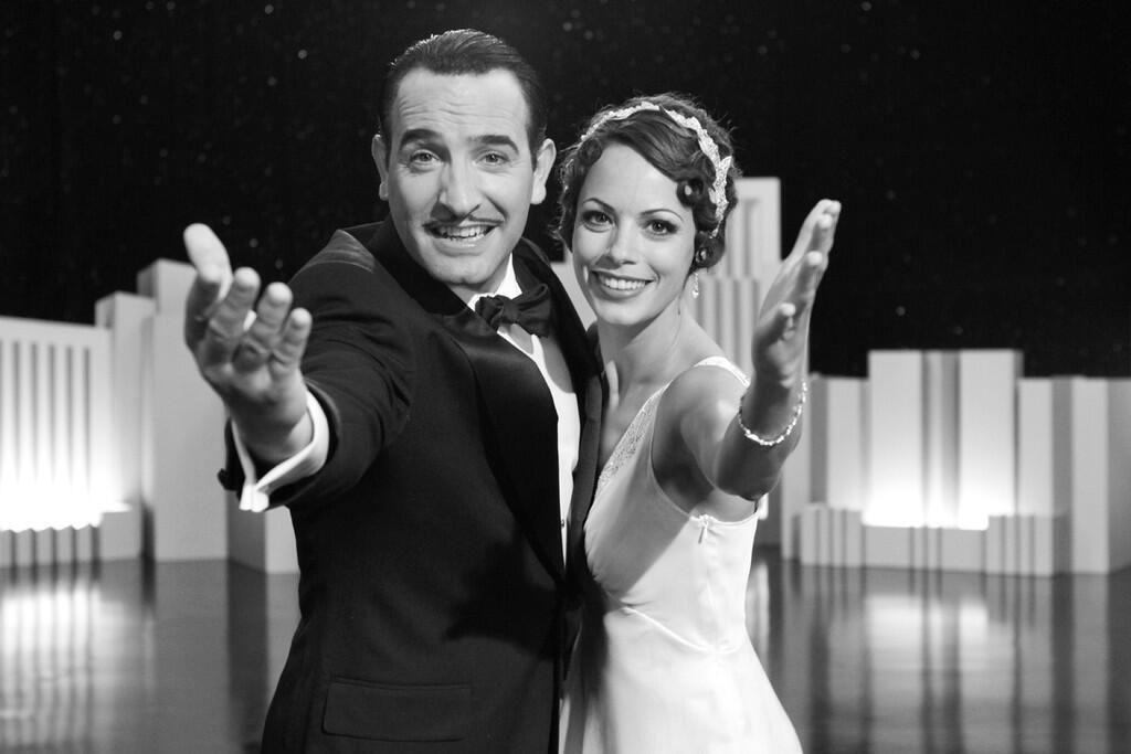 """Jean Dujardin y Berenice Bejo en """"The artist""""."""