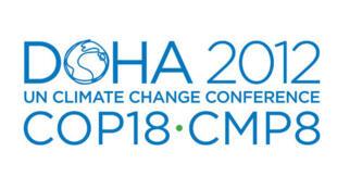 Logo de la conférence mondiale de l'ONU sur le changement climatique.