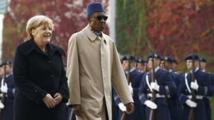 Shugaban Najeria Muhammadu Buhari da Shugaban Gwamnatin Jamus Angela Merkel yayi wata ziyara da Buhari ya kai Jamus.