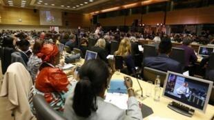 La conférence a rassemblé une cinquantaine de pays, d'organisations et de fondations à l'initiative de la Belgique, des Pays-Bas, du Danemark et de la Suède.