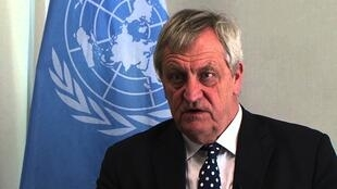 Nicholas Haysom, enviado da ONU para a Somália, foi nomeado por António Guterres.
