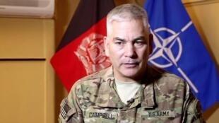 John F. Campbell فرمانده نیروهای ناتو و آمریکایی در افغانستان