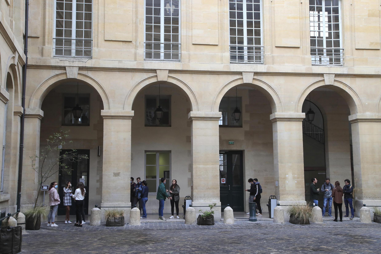 France - Université - Pantheon - Covid