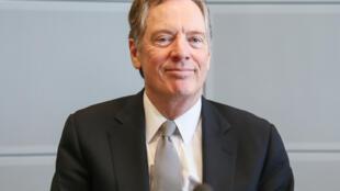 O representante de Comércio dos EUA, Robert Lighthizer.