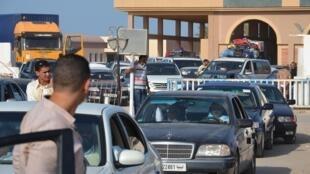 La frontière tuniso-libyenne de Ras Jedir.