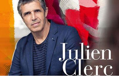Bìa album «Partout la musique vient» của Julien Clerc.