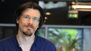 Christophe Paget est la Voix de RFI du Club.