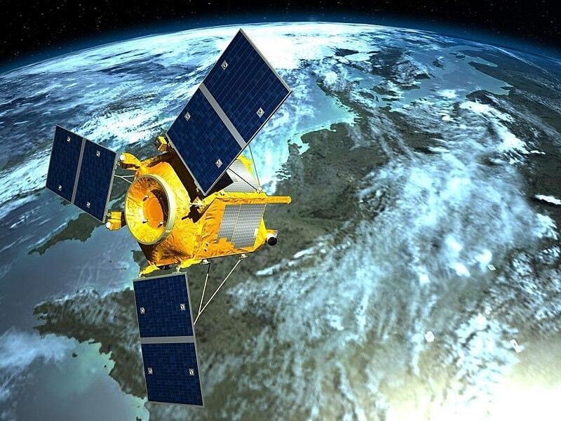 Airbus Azersky satellite