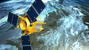 Rússia teria se aproximado demais de satélite francês (Ilustração)