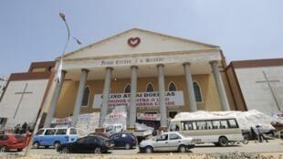 Une église évangélique à Luanda, le 19 mars 2009.