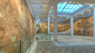 Vue de l'intérieur du musée du Bardo à Tunis, Tunisie.