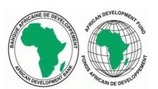 Logo de la Banque Africaine de Developpement.