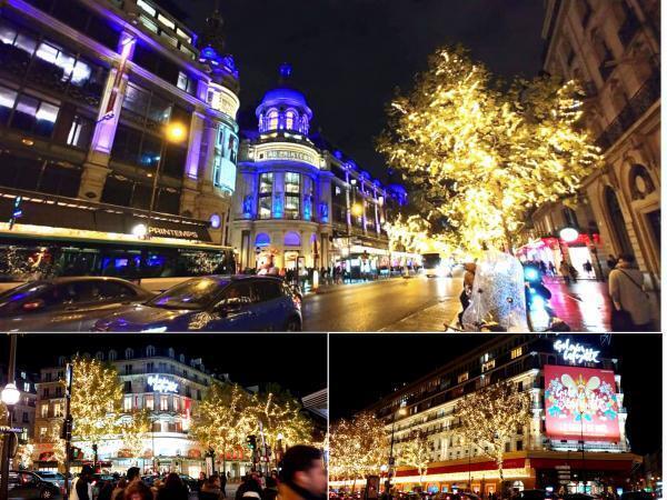 Cửa hàng lớn đại lộ Haussmann và chưong trình ''Tổ ong Giáng Sinh''