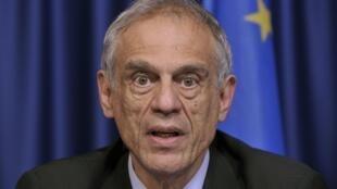 O ministro demissionário das Finanças cipriota, Michael Sarris.