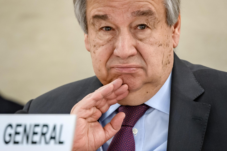 Antonio Guterres, en février 2020.