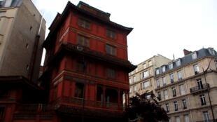 La Pagode de Paris, dans le VIIIe arrondissement.