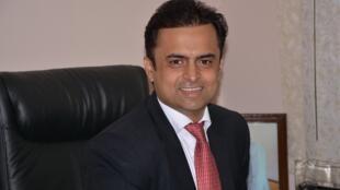 L'homme d'affaires indien Harish Jagtani.