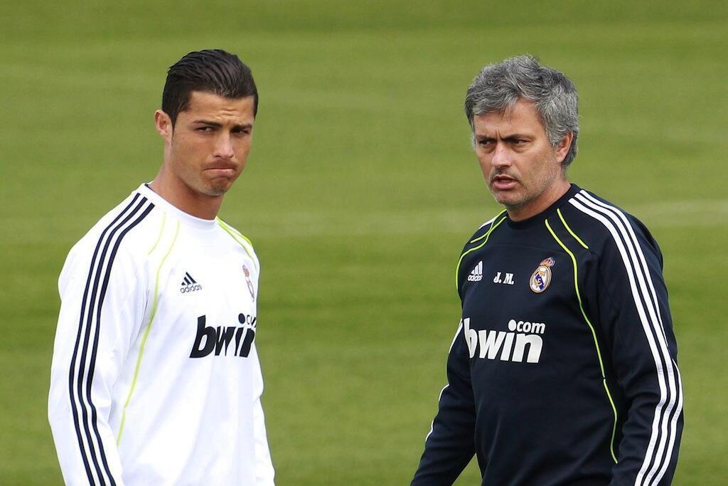 Cristiano Ronaldo (Kushoto) na kocha Jose Mourihno (Kulia) wanaotuhumiwa kukwepa kulipa kodi nchini Uhispania