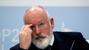 Vice-presidente da Comissão Europeia e encarregado do Clima Frans Timmermans