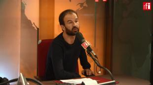 Manuel Bompard sur RFI le 22 octobre 2018.