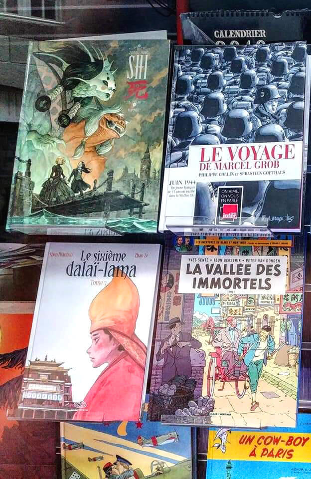 Blake & Mortimer, Phóng viên Tintin hay Cao bồi Lucky Luke đều nằm trong các tập truyện bán chạy nhất