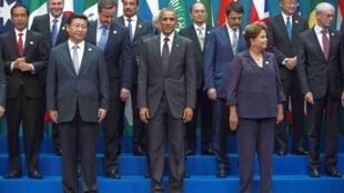 Baadhi ya viongozi wa dunia walioshiriki mkutano wa G20 nchini Australia kuanzia tarehe 15-16 November 2014
