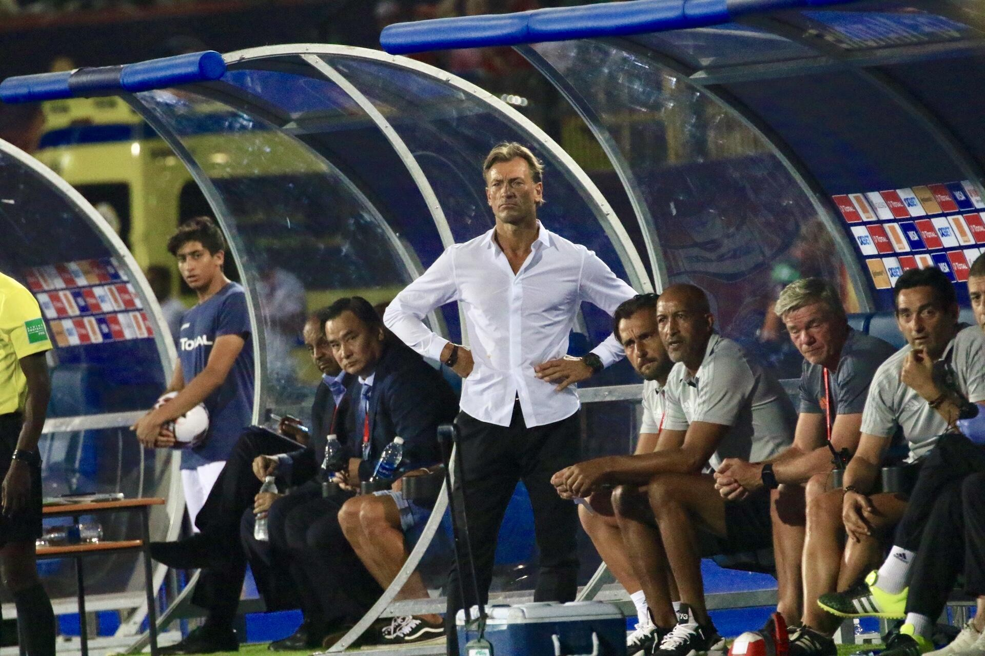 Hervé Renard's Morocco won all three of their games in Group D.