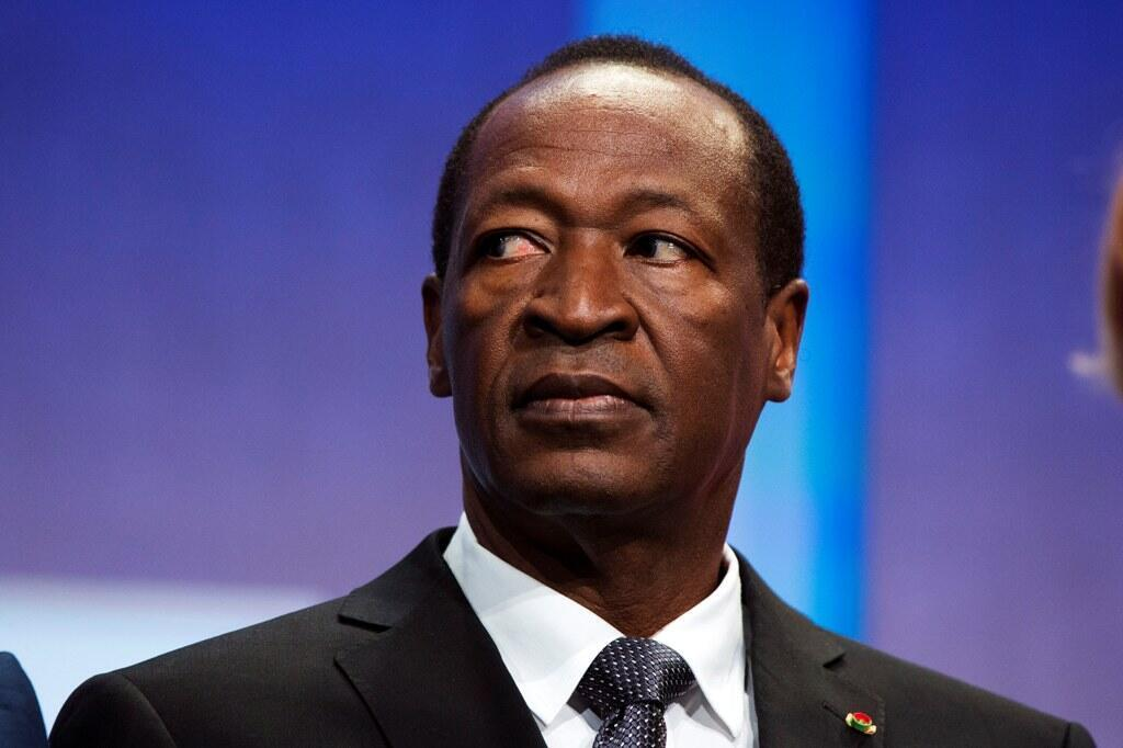 Blaise Compaoré, l'ancien chef d'Etat burkinabè, s'est exilé en Côte d'Ivoire en 2014 après 27 ans de règne.