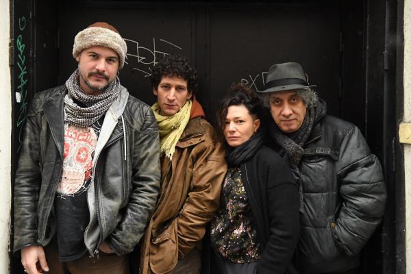Seb el Zin, Thomas Ballarini (drums), Fanny Lasfargues (bass) and Hakim Hamadouche, will perform together at Arabofolies festival, 5 March.