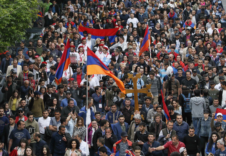 Ереван, 29 апреля 2018.