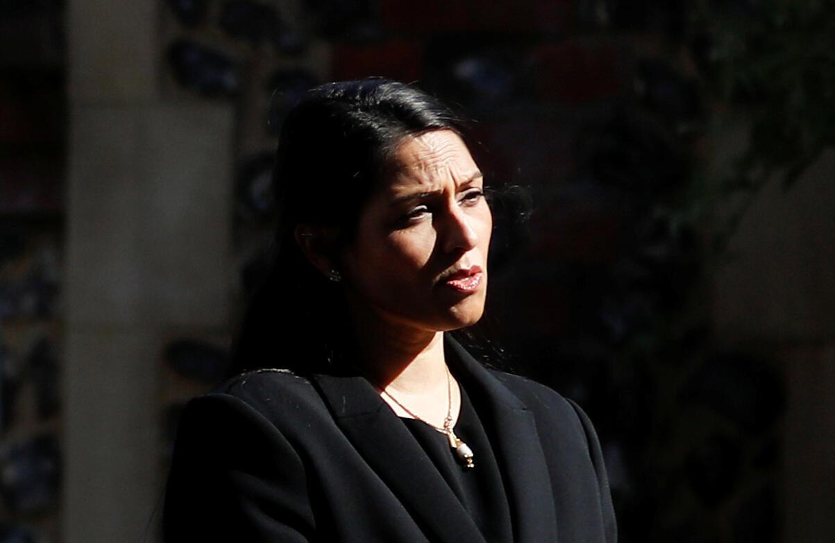 Priti Patel, la ministre de l'Intérieur britannique.