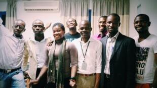 Table ronde enregistrée à Abidjan avec des blogueurs de la plateforme Mondoblog.