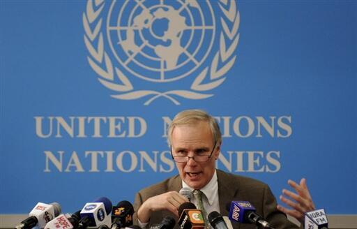 Le rapporteur spécial de l'ONU sur les exécutions extrajudiciaires, Philip Alston, le 25 février 2009.