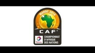 Le logo du Championnat d'Afrique des nations organisé par la CAF.