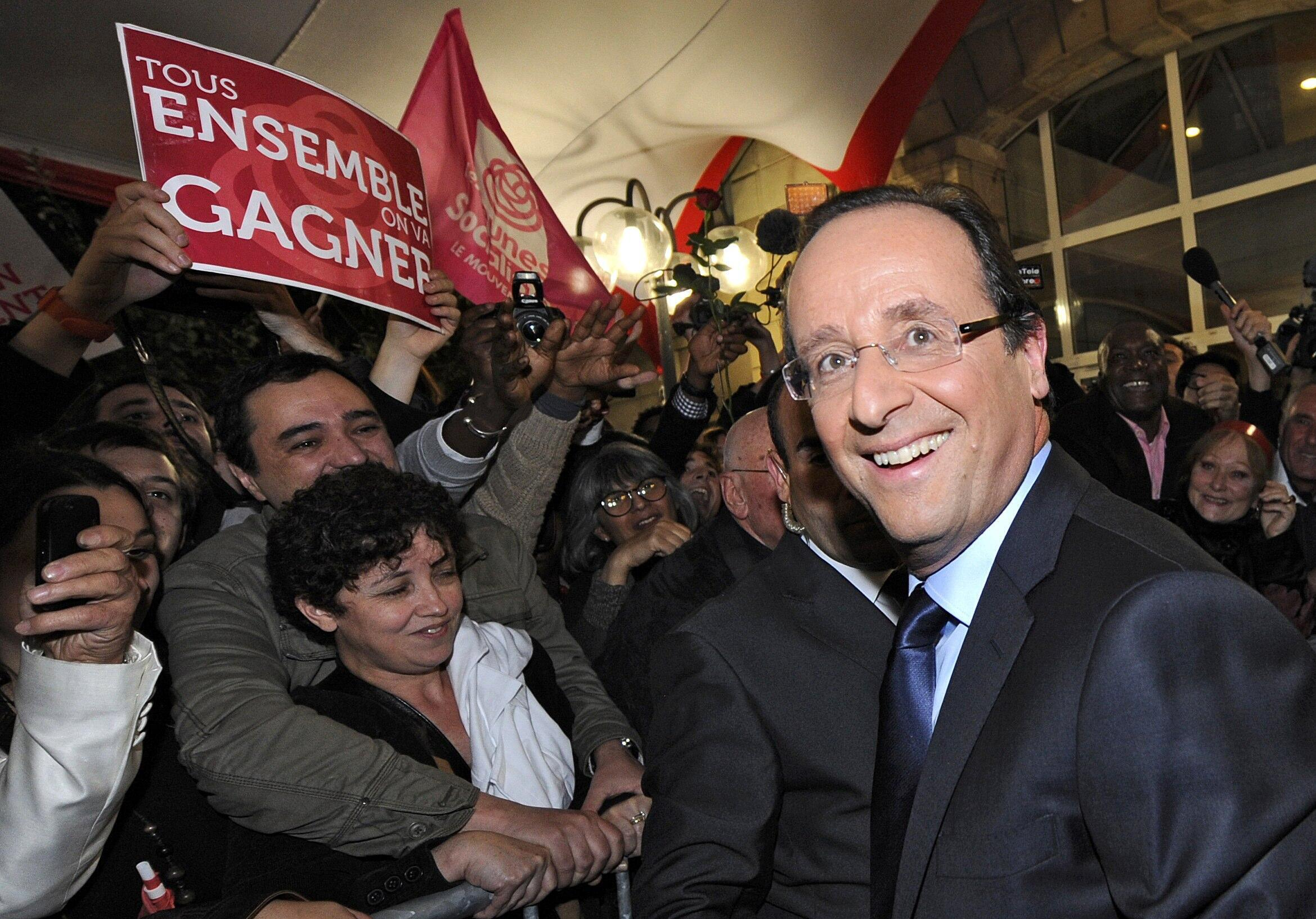 François Hollande ứng cử viên tổng thống của đảng Xã hội