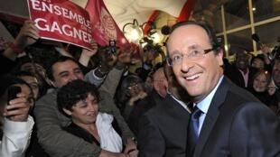 François Hollande representará o Partido Socialista nas eleições presidenciais francesas de 2012.