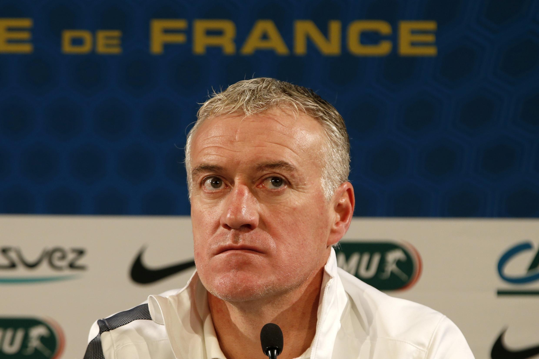 O treinador da seleção francesa, Didier Deschamps.