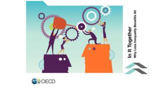 Capa do estudo da OCDE, afirma que desigualdades aumentam em países ricos, mas caem na América Latina. publicado nesta quinta-feira.