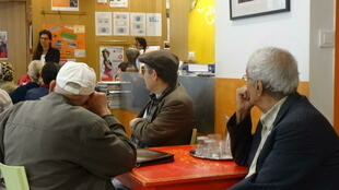Most of the visitors to the Cafe Social in Paris are elderly immigrants from France's former colonies