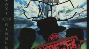 Detalle de la tapa del disco 'Authentik' de NTM.