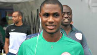 Dan wasan Najeriya da ya koma Manchester United Odion Ighalo.
