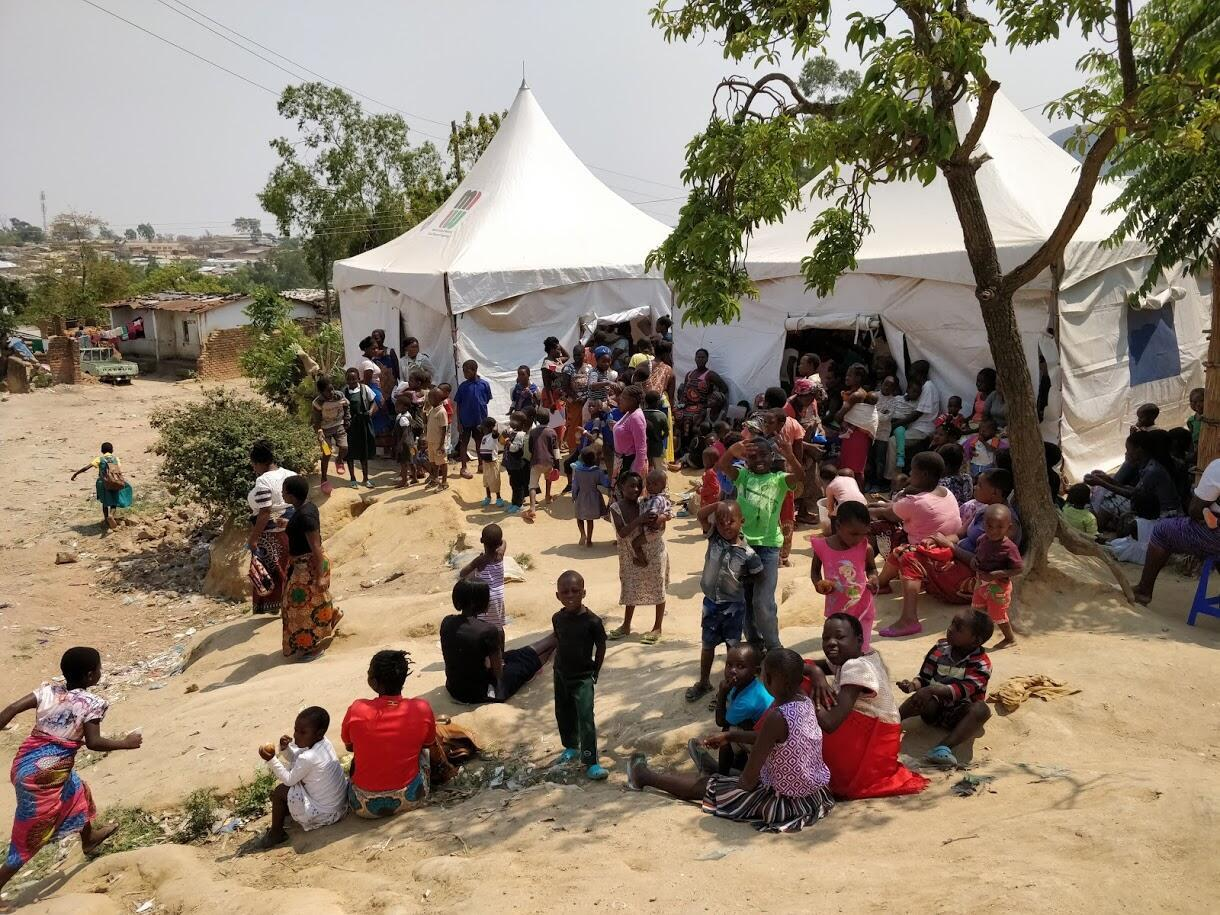 vaccine site Malawi typhoid