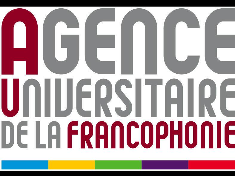 Logo de l'Agence universitaire de la Francophonie.