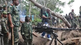 Membros da Forças Armadas da RDC na província de Kivu Norte, uma das províncias mais afectadas pelo aumento de violações de direitos humanos, segindo a ONU.