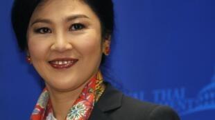 L'ancienne Premier ministre thaïlandaise, Yingluck Shinawatra, le 7 mai 2014, à Bangkok.