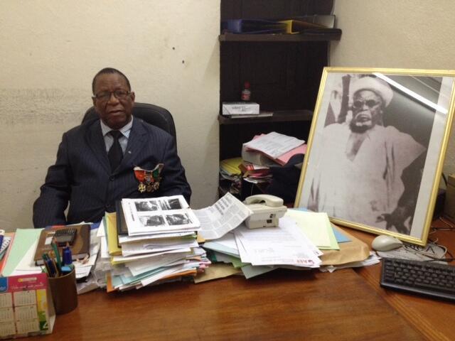 Yassoungo Kone parle de son père, le tirailleur sénégalais Vabe Kone.